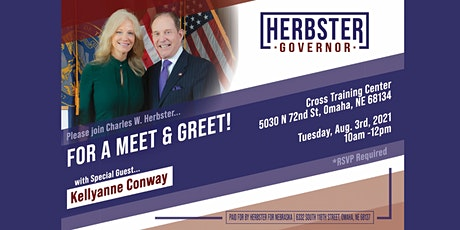 08/03 - Meet & Greet with Charles W. Herbster and Kellyanne Conway tickets