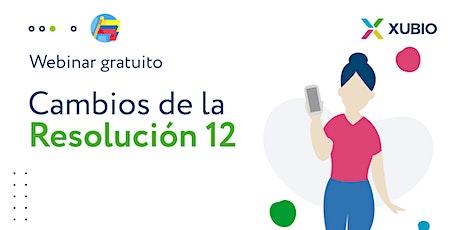 Webinar Col: Cambios propuestos por la Resolución 12 - Contadores entradas