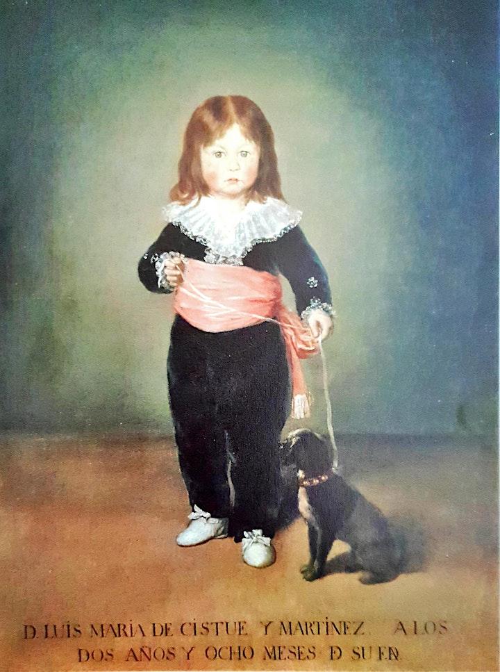 Imagen de Niños y Adolescentes- Francisco Goya Online-Presencial pintando con formas