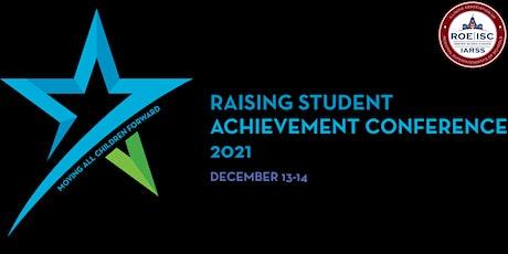 Raising Student Achievement Conference Vendor Registration 2021 tickets