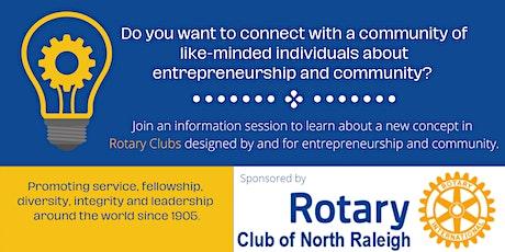 Rotary Entrepreneurship eClub tickets