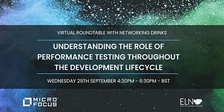 Virtual Roundtable - Understanding the role of Performance Testing tickets