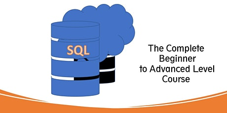 SQL Beginner to Advanced Level Course tickets