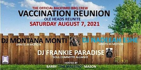 Vaccination Reunion/Membership Drive tickets