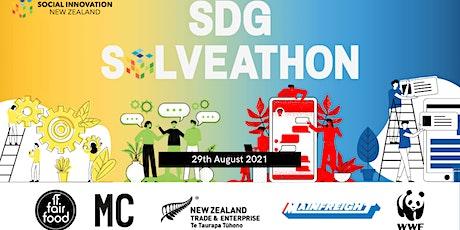SDG SOLVEATHON 2021 tickets