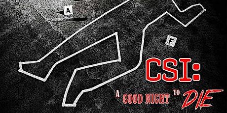 CSI: A Good Night to Die - Online Escape Game tickets