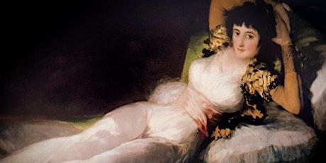 Adultos - Francisco Goya Online-Presencial dibujando con modelo entradas