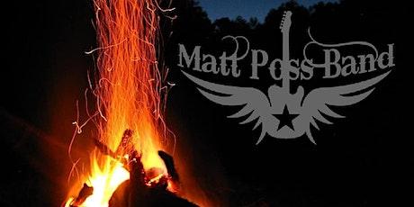 Matt Poss band with Cody Lee Moomey tickets