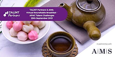 TALiNT Partners & AMS: Virtual Roundtable Breakfast tickets