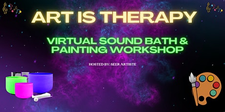 ART IS THERAPY COMMUNITY SOUND MEDITATION HEALING tickets