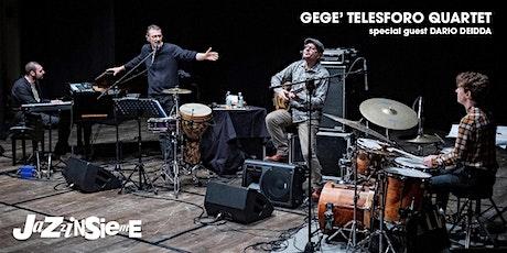 Gegè Telesforo Quartet biglietti
