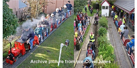 School Holiday Trains - Stoke Park Railway - Miniature Train Rides tickets