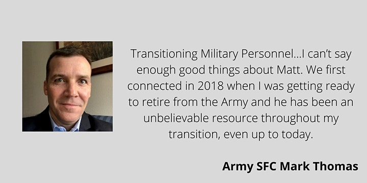 LinkedIn For Military Professionals in Transition image