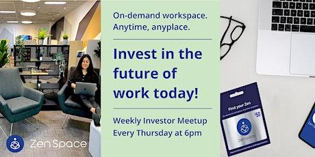 ZenSpace Investor Meetup tickets