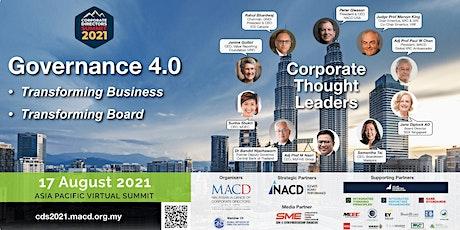 Corporate Directors Summit 2021 - Governance 4.0 tickets