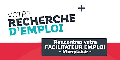 Permanences Emploi dans le quartier prioritaire de Monplaisir - Août billets