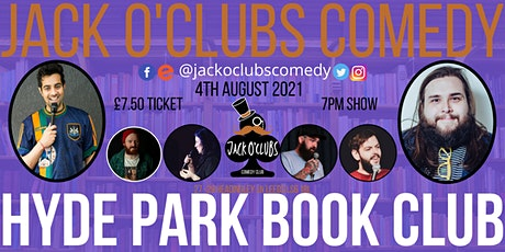 Jack O'Clubs Comedy Night at Hyde Park Book Club with Raul Kohli! tickets