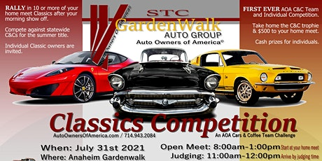 Auto Owners Of America© Cars And Coffee Classics Team Competition tickets