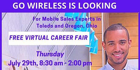 Free Virtual Career Fair Hosted by Go Wireless for Ohio Locations tickets