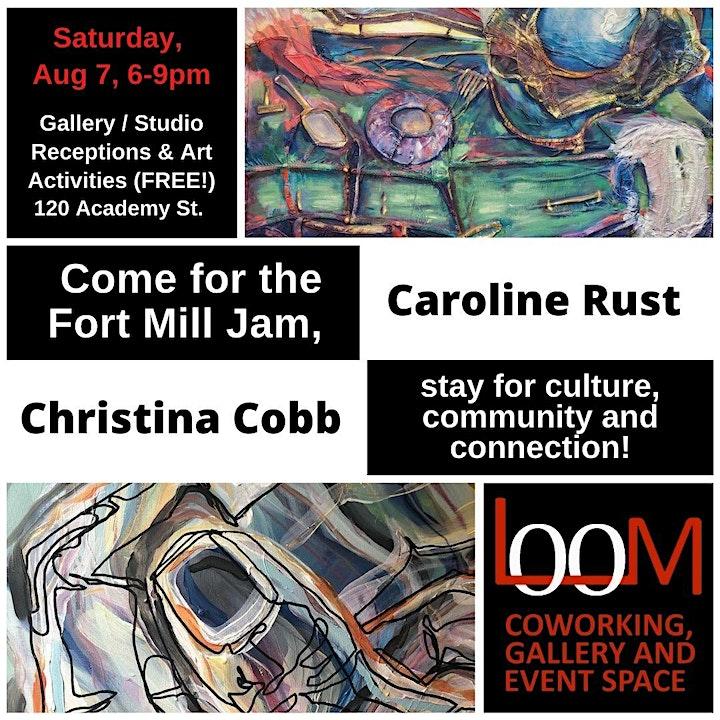 Art Exhibition Reception for Caroline Rust and Christina Cobb image