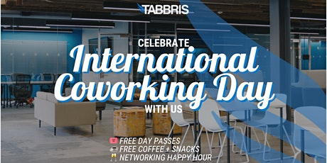 Free Day Pass for International Coworking Day tickets