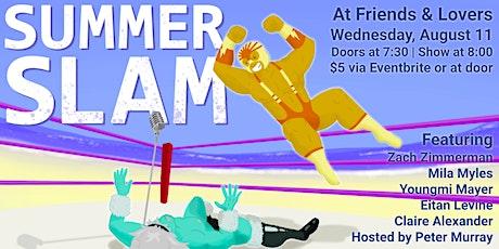 Summer Slam Comedy tickets