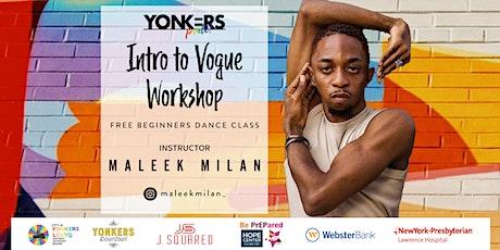 Intro to Vogue Workshop tickets