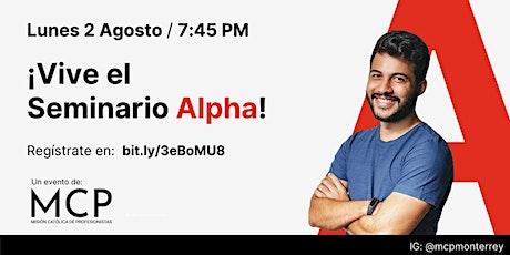 Seminario Alpha tickets