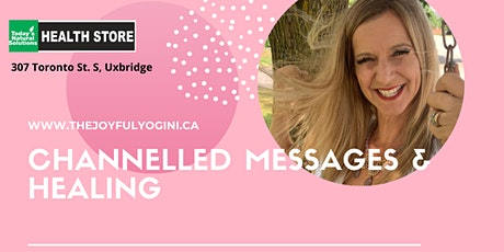Channelled Messages & Healing with The Joyful Yogini tickets