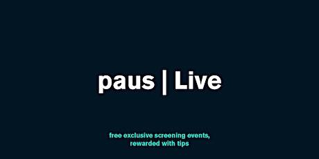 'Lane' 24-hour screening premiere event tickets