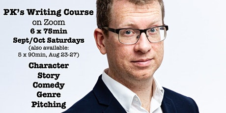 PK's Writing Course (on Zoom): Sept 11-Oct 16 tickets
