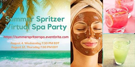 Summer Spritzer Virtual Spa Party tickets