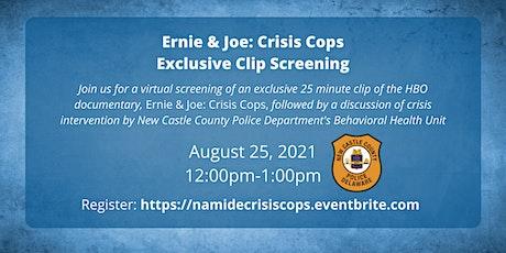 """""""Ernie & Joe: Crisis Cops"""" Exclusive Clip Screening tickets"""