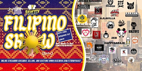 Stormy Vault's Filipino Show - New York Designer Toy Show via Facebook Live tickets