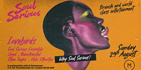 Soul Serious Bank Holiday Brunch & Party tickets
