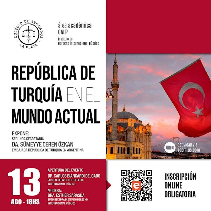 Imagen de República de Turquía en el mundo actual