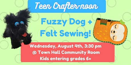 Teen Crafter-noon! (Kids entering grades 6+) at Town Hall tickets