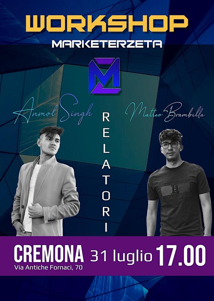 Immagine Evento di  MarketerZeta a Cremona