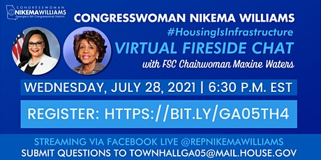 GA-05 Virtual Fireside Chat: #HousingIsInfrastructure tickets