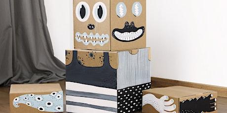Kinderworkshop Stapelgek op monsters tickets