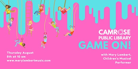 GAME ON! with Mary Lambert | A Camrose Public Library Zoom Concert tickets
