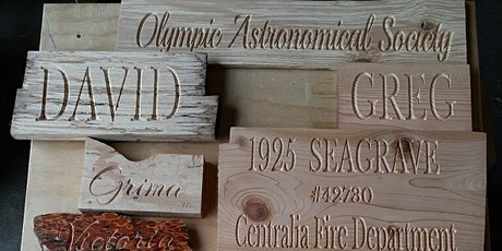 Intro to CNC Sign Making tickets