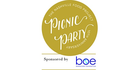 10th Anniversary Picnic Party tickets