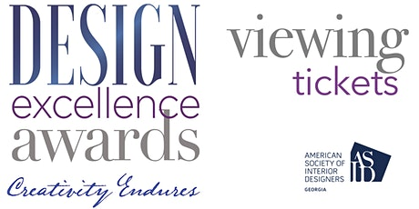 2021 DESIGN EXCELLENCE AWARDS | WINNERS PRESENTATION tickets