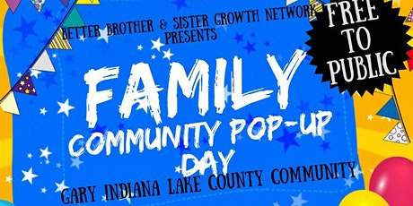 Family Community Pop-Up Day!!! tickets