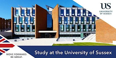 Descubre por qué estudiar en The University of Sussex tickets