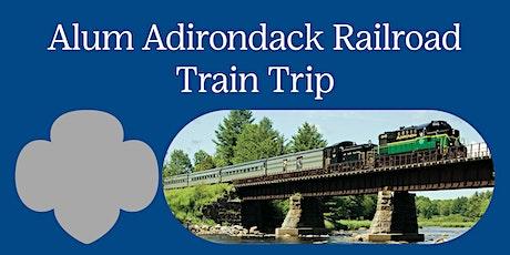 Girl Scout Alum Adirondack Railroad Train Trip tickets