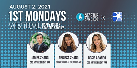 Startup SD August 1st Mondays w/ Founders at The Bright App tickets