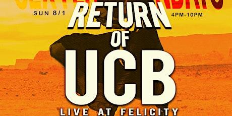UCB Band LIVE!!! #SexyLadySundays Day Party -  EVERYBODY FREE w/ RSVP!!! tickets
