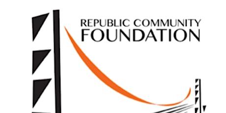 "Republic Community Foundation Annual Banquet: ""Roaring Back"" tickets"